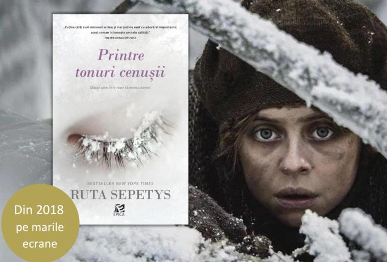 """Romanul """"Printre tonuri cenușii"""" de Ruta Sepetys va fi ecranizat"""
