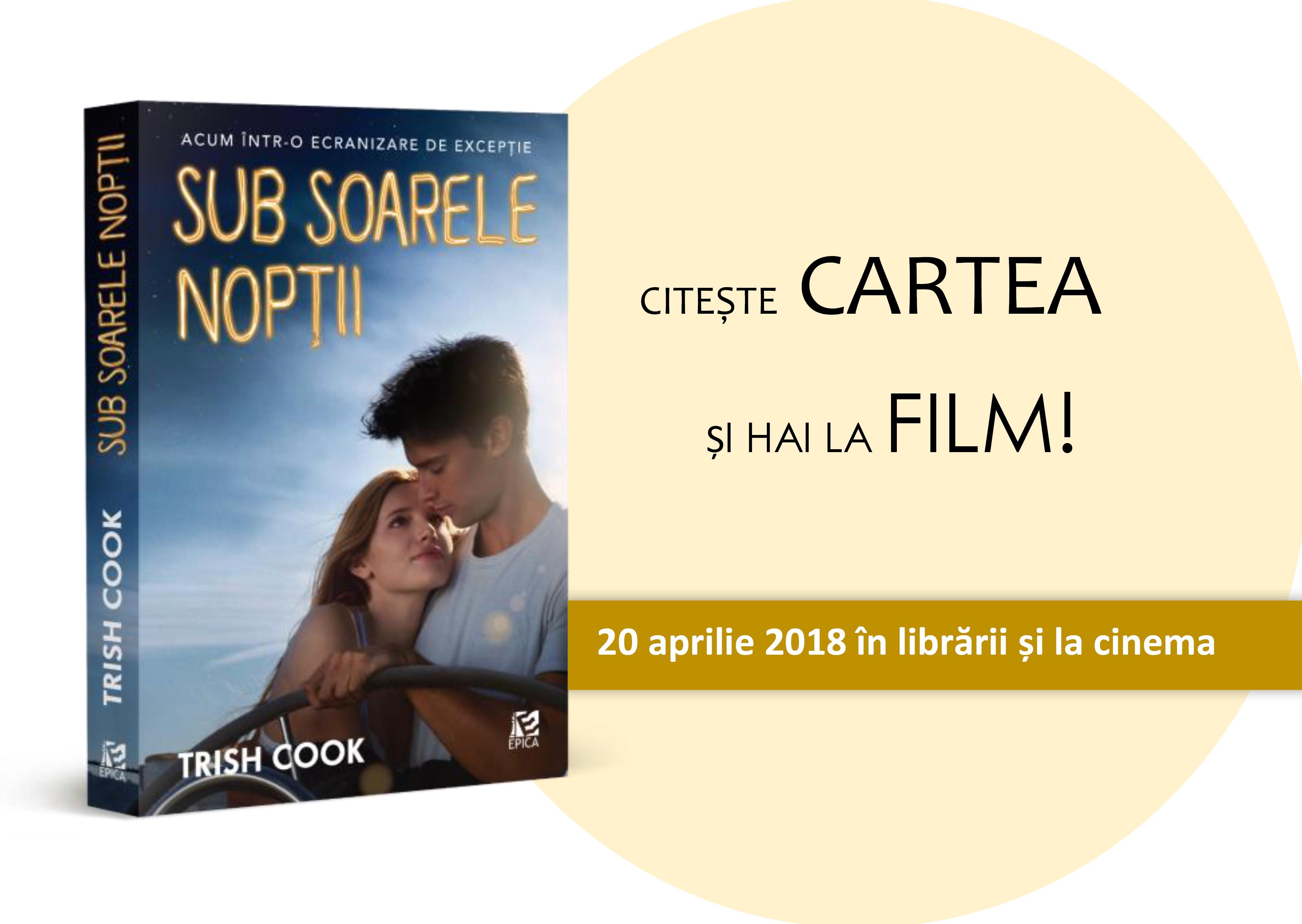 """Romanul """"Sub soarele nopții"""" de Trish Cook va fi ecranizat"""